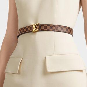 Louis Vuitton Damier Ebene Belt